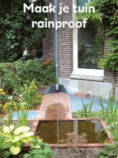 Rainproof hovenier folder
