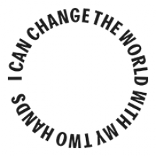 i can change the world with my two hands logo