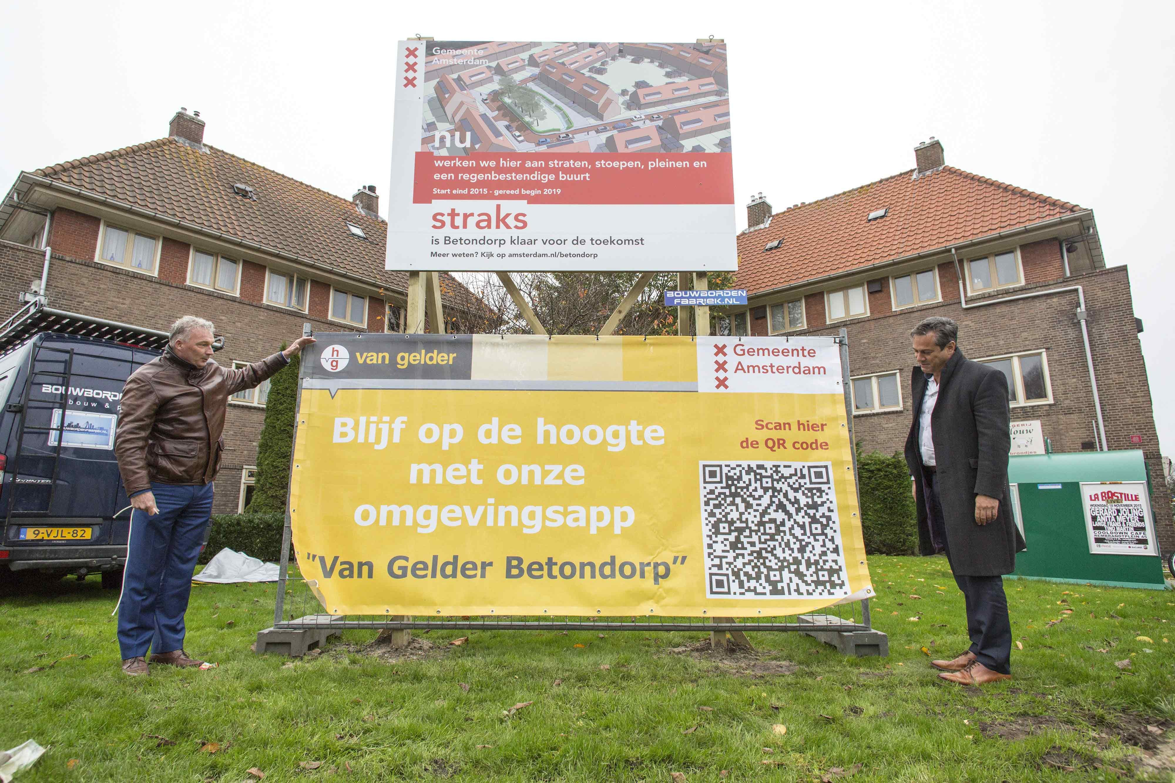 Rainproof Betondorp van start