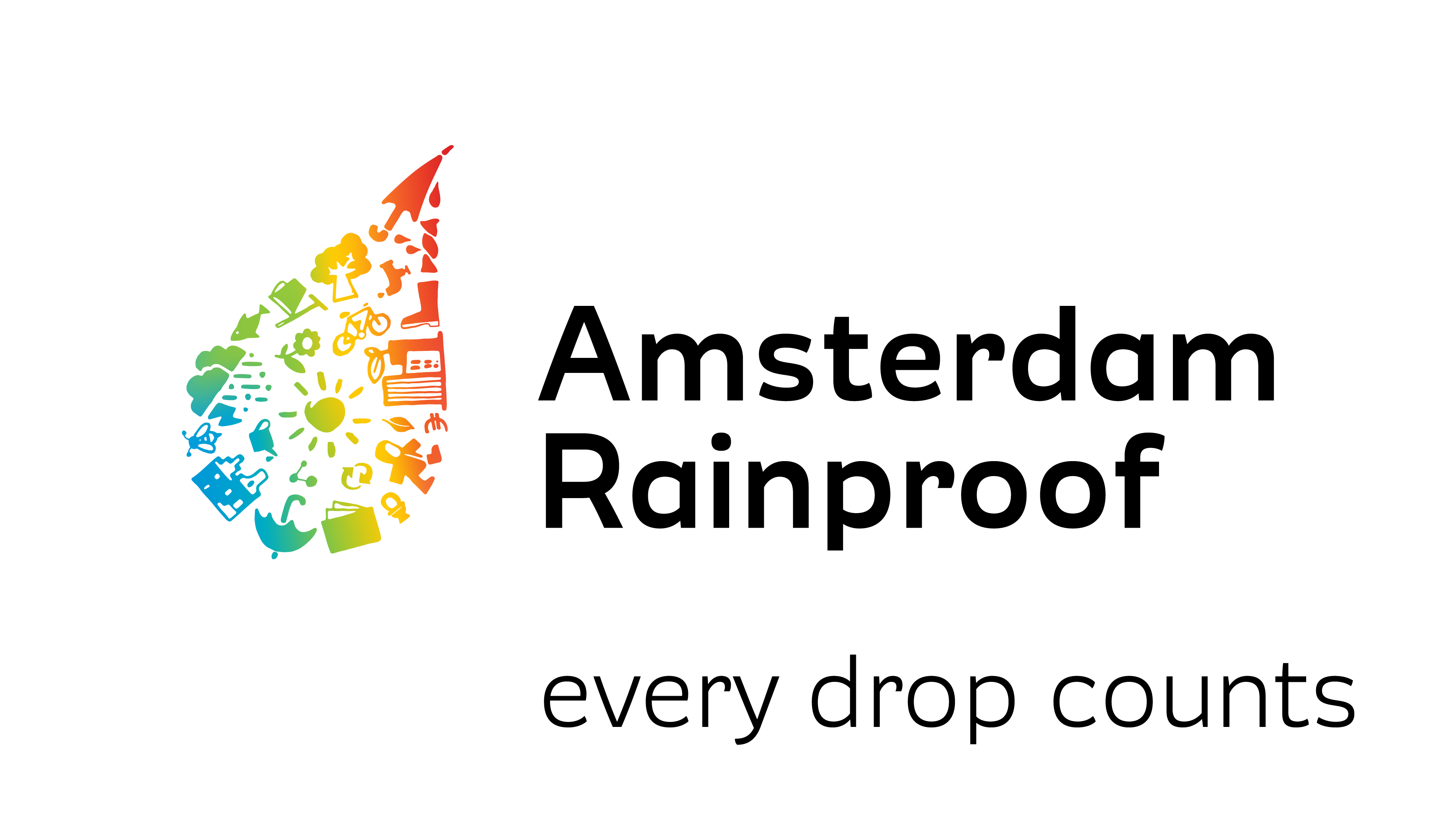 Rainproof logo English